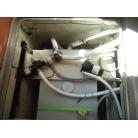 汚水タンクとモーター