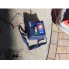 高圧電動ポンプ 自動車バッテリーにつなぎ10分ほどで空気は入りました